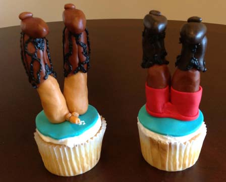 cowboy legs and sexy Cuming dick diving into a cup cake - Copy